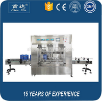 Factory price fully automatic glass bottle sunflower oil rice bran oil filling machine with CE,ISO