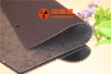China manufacturer direct wholesale flocked lining polyester satin fabric for packing and Home textiles