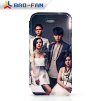 Wholesale sublimation flip leather mobile cover for iphone 5