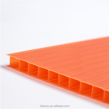 100% virgin bayer material UV Polycarbonate PC Plastic Corflute Sheets