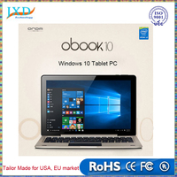 "10.1 "" inch 2 in 1 Onda oBook10 Tablet PC 4GB RAM 64GB ROM Intel Atom X5 Z8300 Quad Core Windows10 Home Tablet"