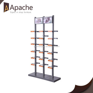 Shopping Mall Retails Shoe Store Metal Display Racks