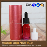 Wholesale 15ml glass dropper bottles red small glass bottleswith red tube for glass bottles