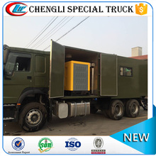 SINOTRUK HOWO 6x4 6x6 Right Hand Drive Mobile Multifunction Maintenance Workshop Truck Manufacturer