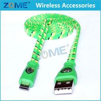 Wholesale Download Free Mobile Games Braided Usb Sync Cable For Android Phones Usb Charger Cord