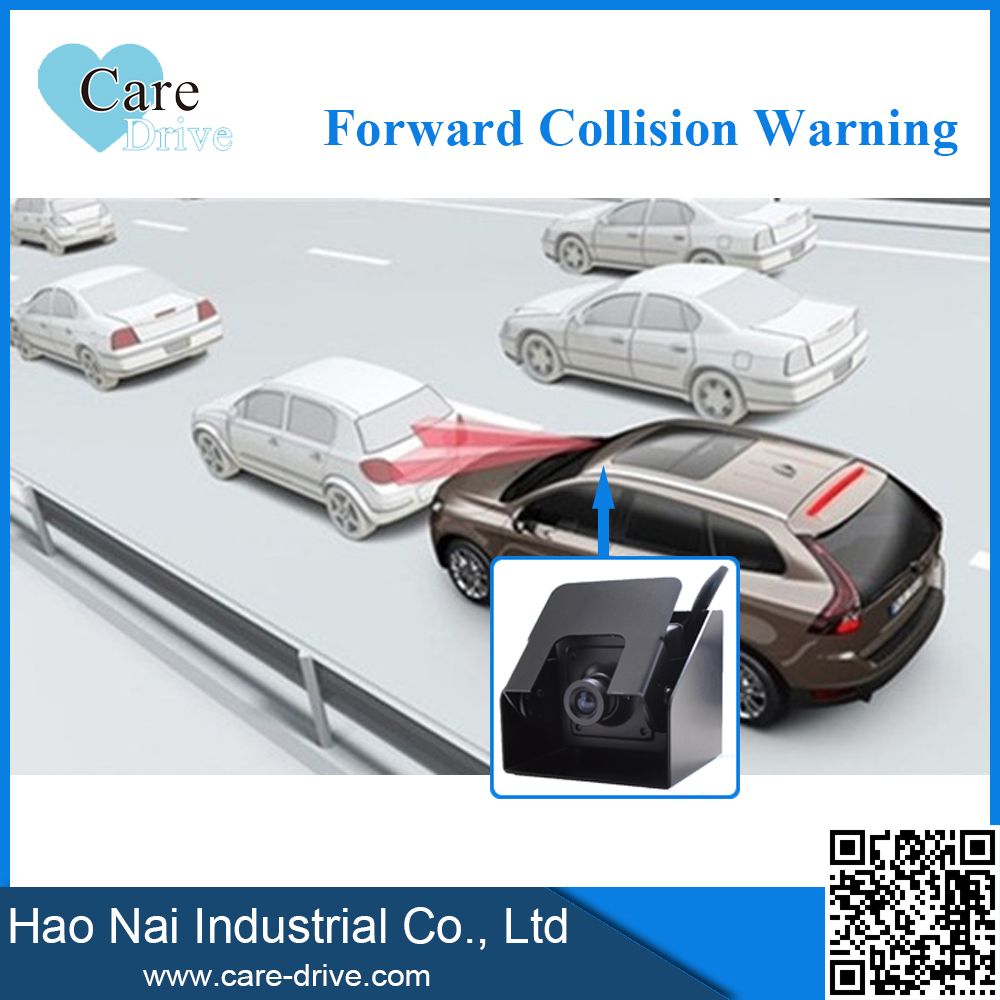 road accident prevention system forward collision warning with over speed alarm