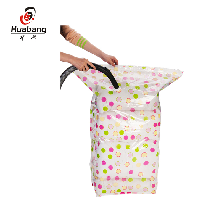 Fashion Designed Easy Simple Quick Clothing Cube Vacuum Seal Storage Bag
