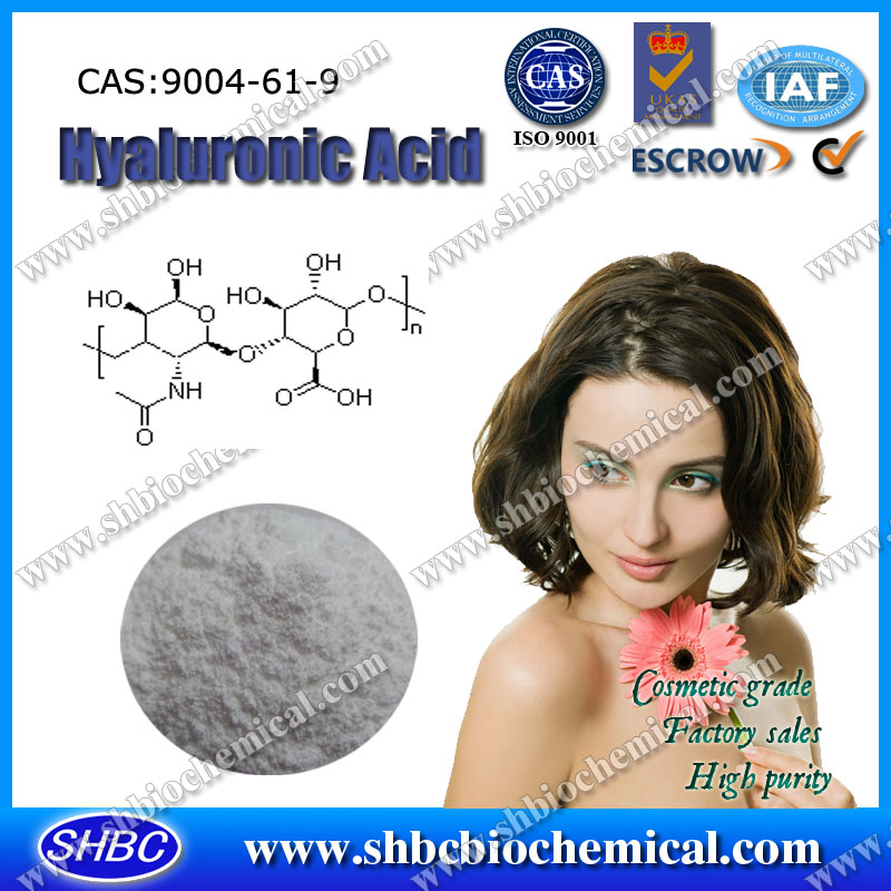 Hyaluronic Acid 9004-61-9 with high purity