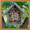 FSC professional new design handmade custom wooden bee insect house