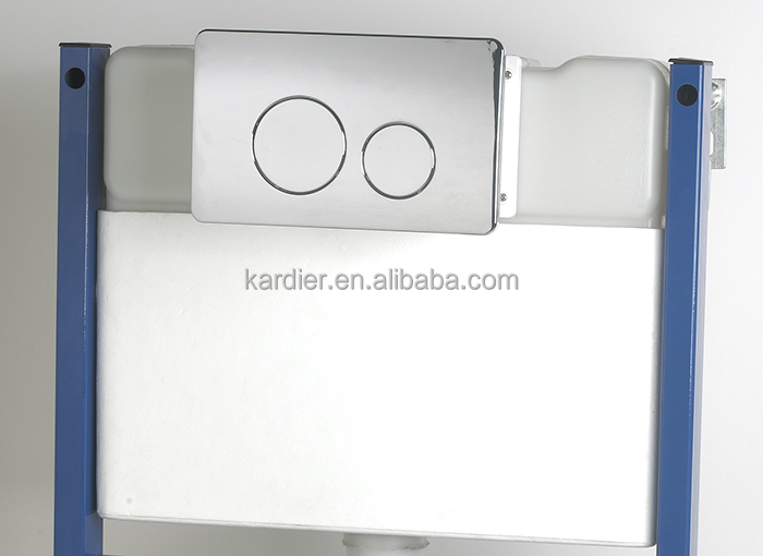 Western style plastic toilet cistern, flushing cistern, concealed flush tank price