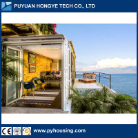 Hot New Product For Prefabricated Houses Modular Luxury Prefab Container Villa