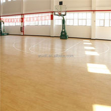 Popular sturdiness portable athletic pvc basketball flooring in stock with CE/ISO