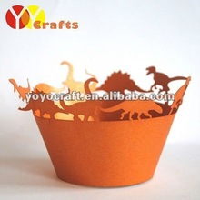 laser cut cupcake wrappers for christmas holiday party decoration for wholesale and retail