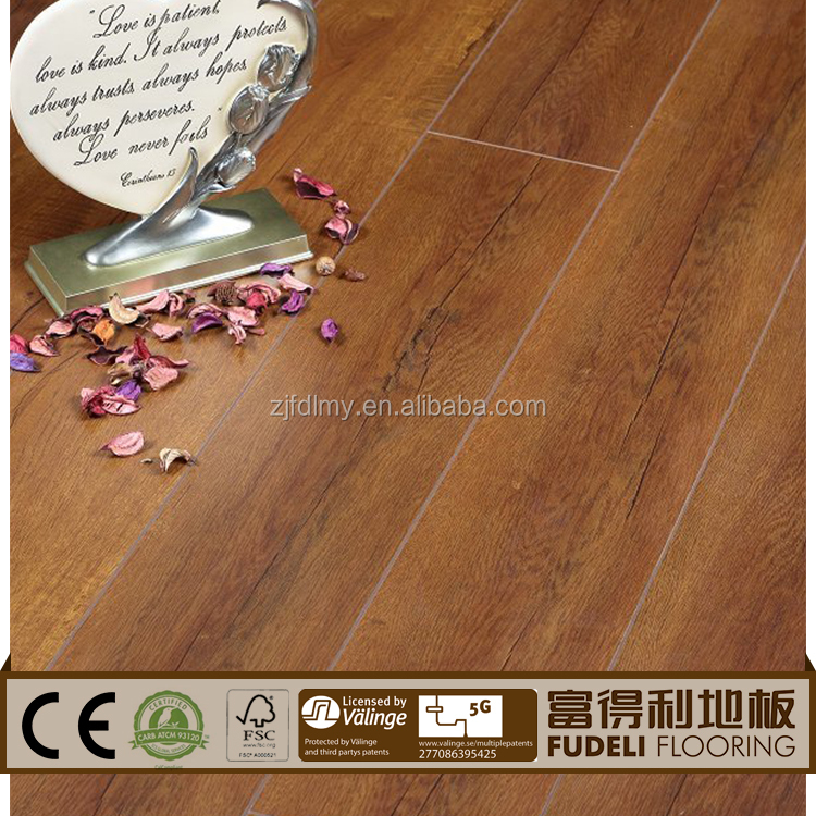 New and best quality Multilayer E1 Eco friendly laminate hardwood flooring wood floor