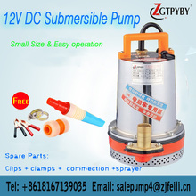 specification of submersible dc water pump bomba sumergible dc 12 v dc small centrifugal pump