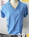 Whoesale health and medical hospital fashion design nurse medical scrubs uniform