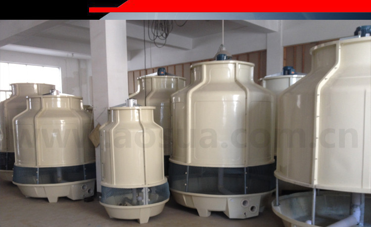 6T FRP high temp resistant water cooling tower system