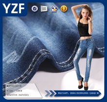 8.6oz 97%cotton 3%stretch denim fabric for jeans