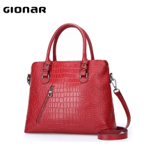 The Best Bag Ladies Alligator Prints Genuine Leather Handbags Tote