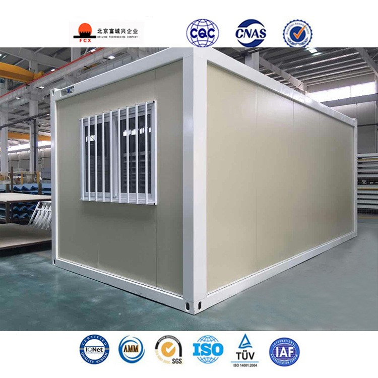 20ft flat pack prefab container homes used as container office and container accommodation or portable cabin