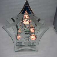 glass mirror votive candle holders,christmas product for hobby lobby wholesale