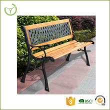 All weather suitable high quality garden bench wooden slats/ comfortable wooden bench to seat