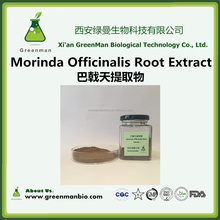 Professional Manufacturer radix morinda officinalis extract/medicinal indian mulberry root extract