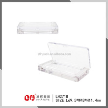 Transparent AS eyeshadow case customized cosmetic packaging container