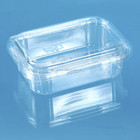 Rectangular Disposable Plastic Clamshell blister packaging for fruits