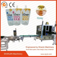 drink pouch with spout packaging / mineral drinking pure pouch bag sachet water filling packing making machine