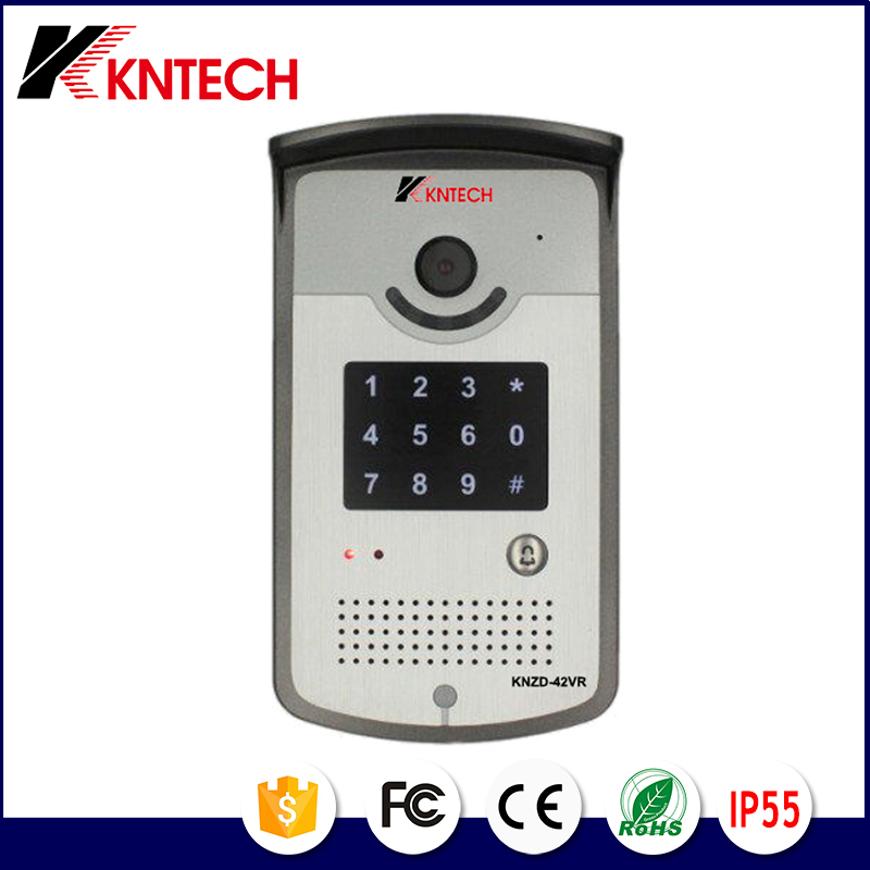 KNTECH KNZD-42VR Wire Video Door Phone Intercom System For Large Apartment