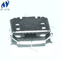 micro usb female b 5 pin connector made in china large number in stock