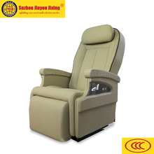 Luxury bus seat with rotating