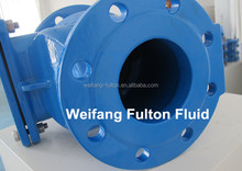 Chinese supplier sewage rubber flap check valve