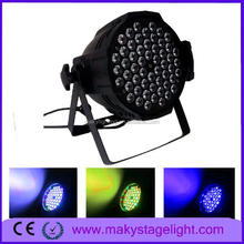 waterproof mini led lights led par can light not waterproof 54*3w par light