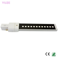 New 365~410nm 9w LED UV Lamp for Nail Art/Nail Curing Replacement for UV Bulbs UV Lampe