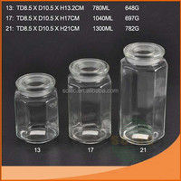 Good quality cosmetic acrylic luxury jar For super market
