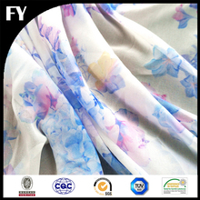 Your Own Design Print Bubble Chiffon Fabric 100% Polyester Textiles from China