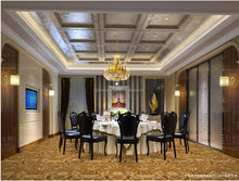 Custom 80 wool/20 nylon hotel room,hotel lobby, hotel ballroom carpet guangzhou carpet