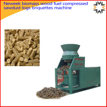 Neweek biomass wood fuel compressed sawdust logs briquettes machine