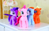 Full set rainbow horse animal My Little Pony soft stuffed plush toy