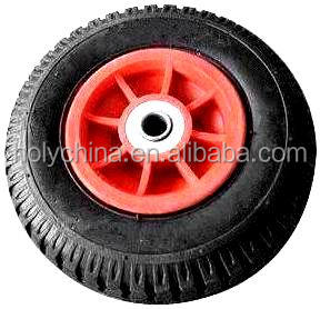 hot sale high quality small rubber wheel with bearings