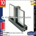 Visible System Curtain Wall For Shopping Mall