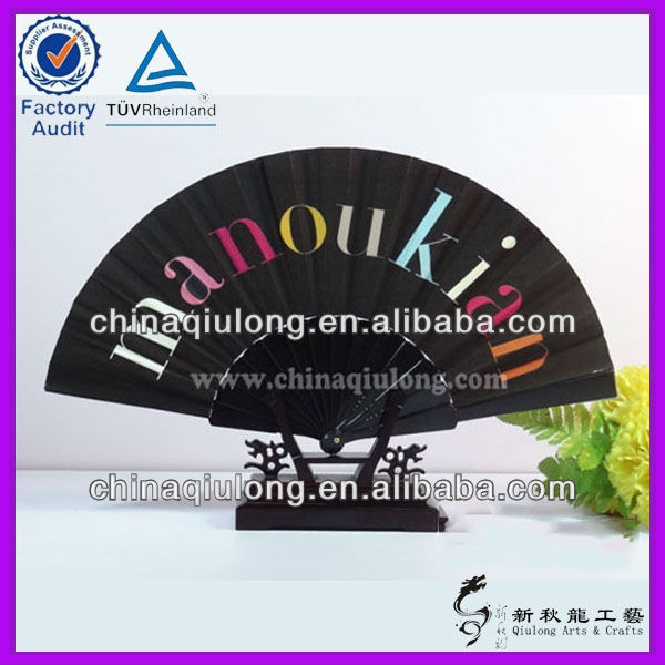 Chinese Wholesale Plastic Frame Foldable Hand Fan