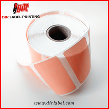 standard size private printing self adhesive vinyl blank sticker paper roll