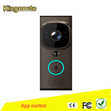 Villa WIFI video door phone for IP access control solution with wifi video doorbell