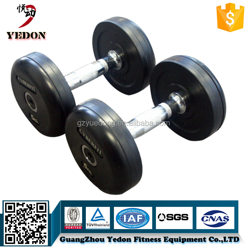 YD-6502 Adjustable gym equipment dumbbells set fixed cheap dumbbell for sale