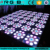DMX colorful led flower dance floor with low price