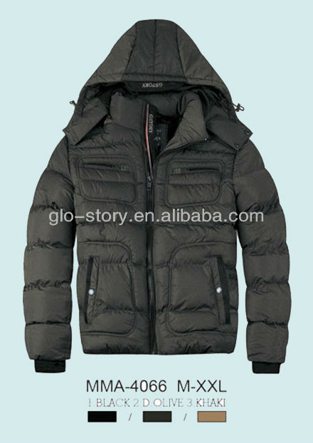 Glo-story 2014 italian importer fitted winter jacket man