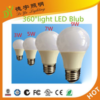 A60 high thermal plastic and aluminium led bulb 7w Alibaba Express Turkey
